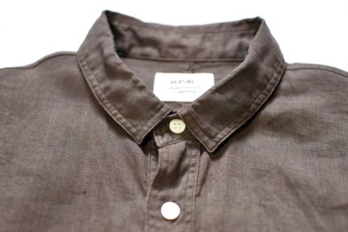 weacのリネンシャツ
